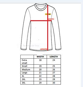 Size Chart LS